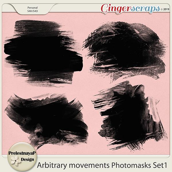 Arbitrary movements Photomasks Set1