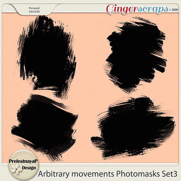 Arbitrary movements Photomasks Set3
