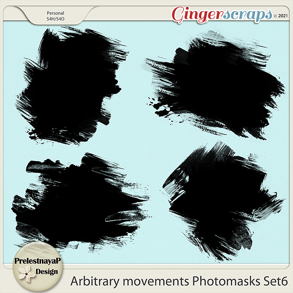 Arbitrary movements Photomasks Set6