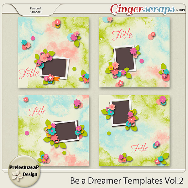 Be a Dreamer Templates Vol.2
