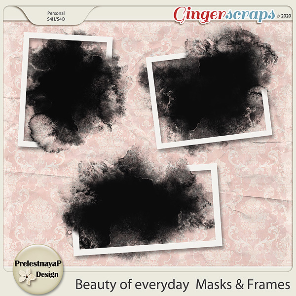 Beauty of everyday Masks & Frames
