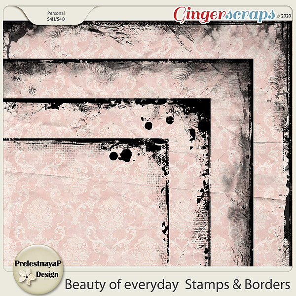 Beauty of everyday Stamps & Borders
