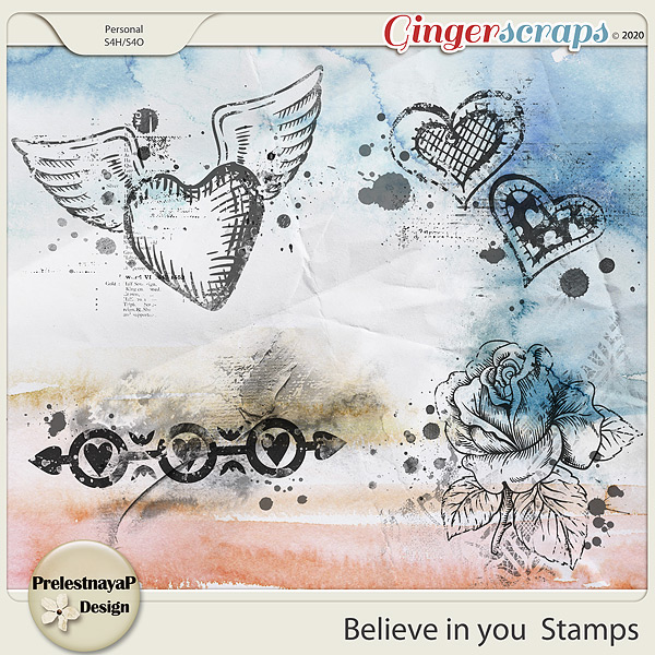Believe in you Stamps