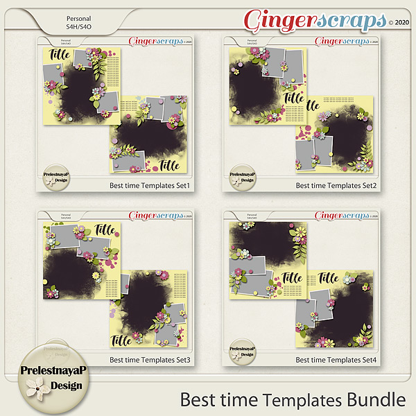 Best time Templates Bundle