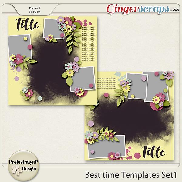 Best time Templates Set1