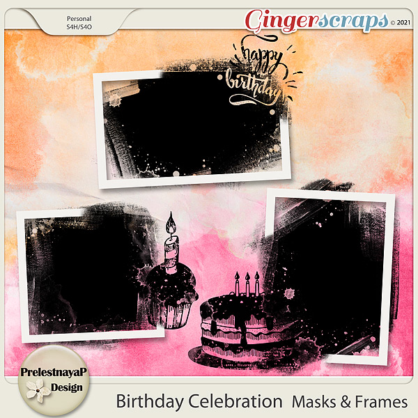 Birthday Celebration Masks & Frames