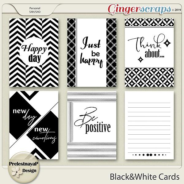 Black&White Cards