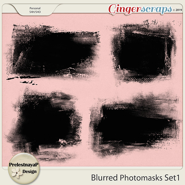Blurred Photomasks Set1