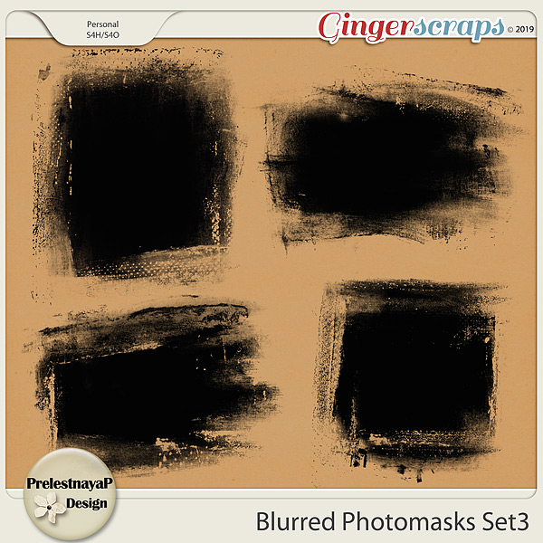 Blurred Photomasks Set3