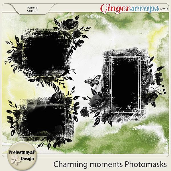 Charming moments Photomasks