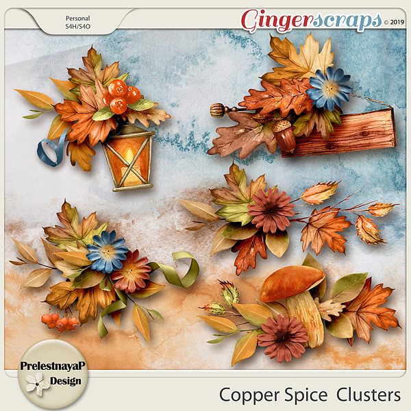 Copper spice Clusters