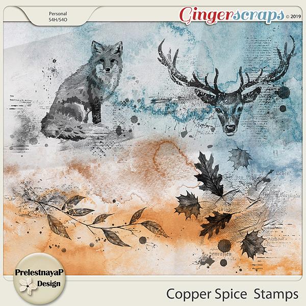 Copper spice Stamps