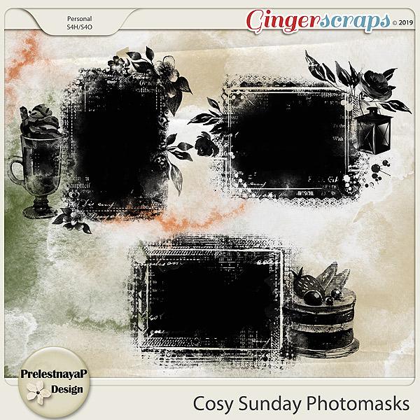 Cosy Sunday Photomasks