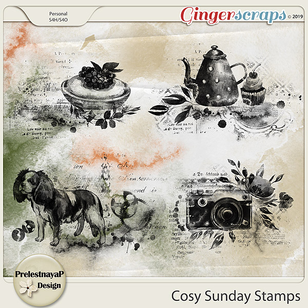 Cosy Sunday Stamps