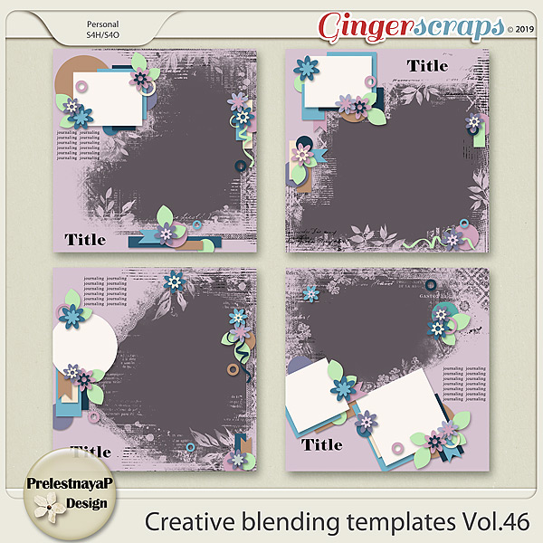 Creative blending templates Vol.46