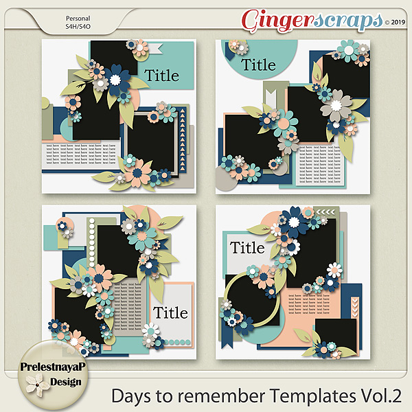 Days to remember templates Vol.2