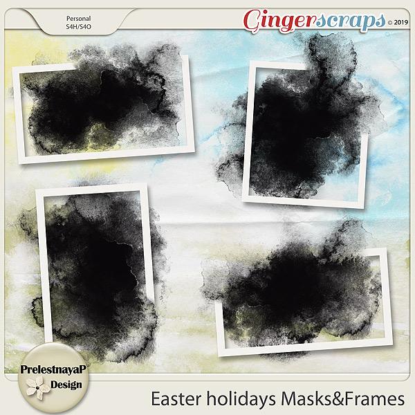 Easter holidays Masks&Frames