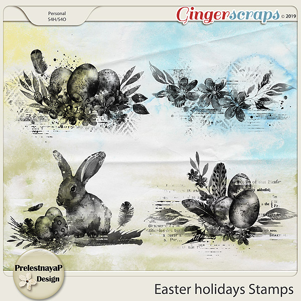Easter holidays Stamps