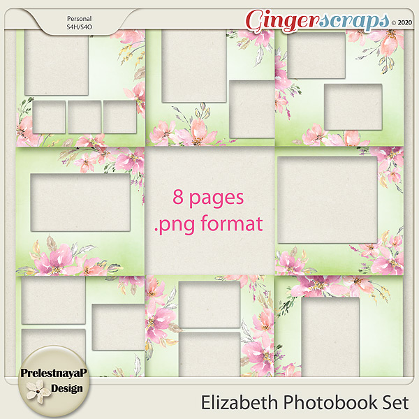 Elizabeth Photobook Set