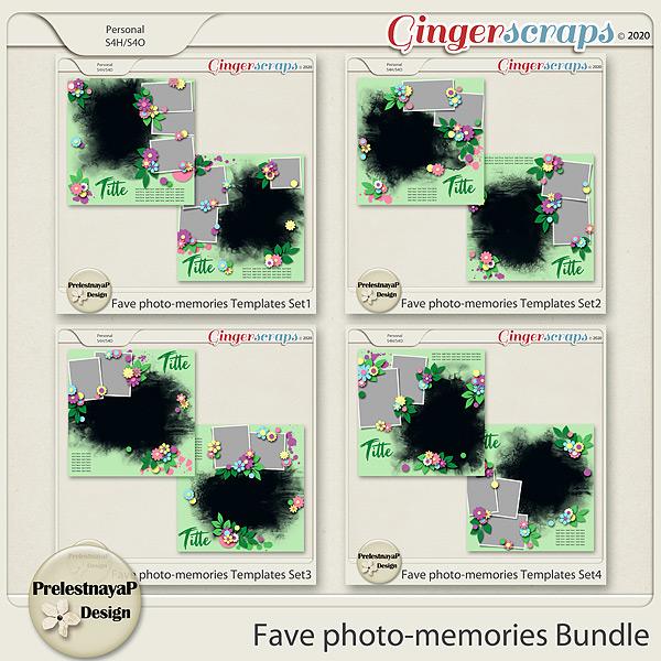Fave photo-memories Templates Bundle