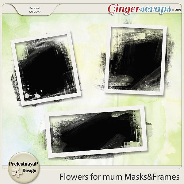 Flowers for mum Masks&Frames