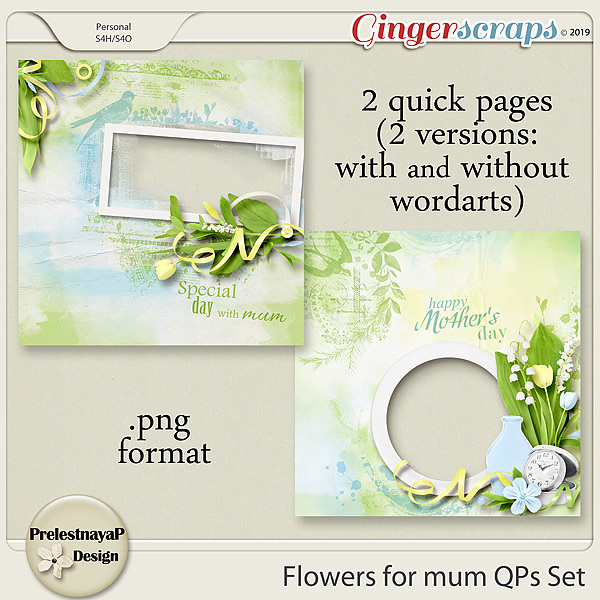 Flowers for mum QPs Set