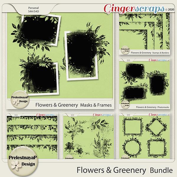 Flowers & Greenery Bundle