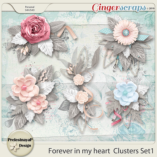 Forever in my heart Clusters Set1