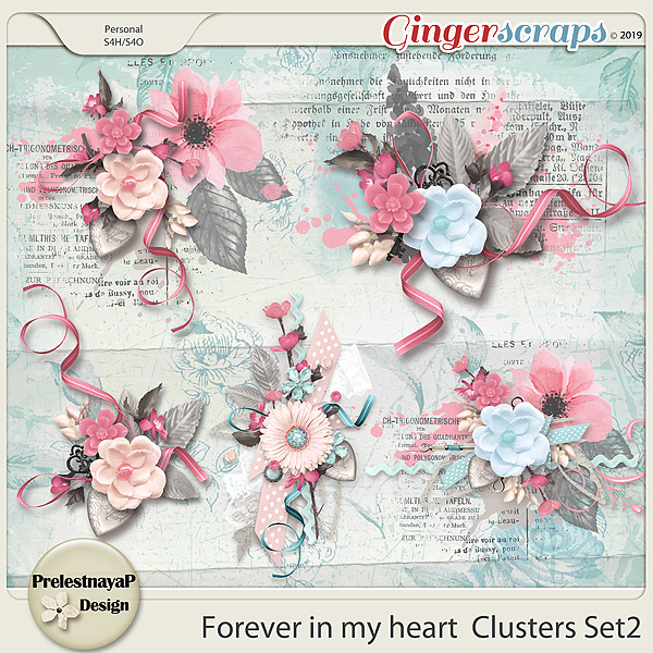 Forever in my heart Clusters Set2