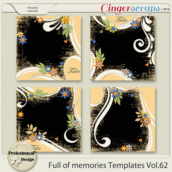 Full of memories Templates Vol.62