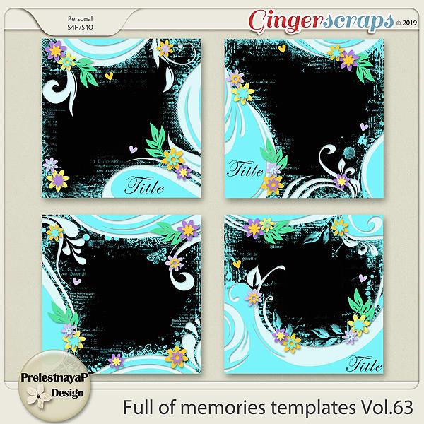 Full of memories Templates Vol.63