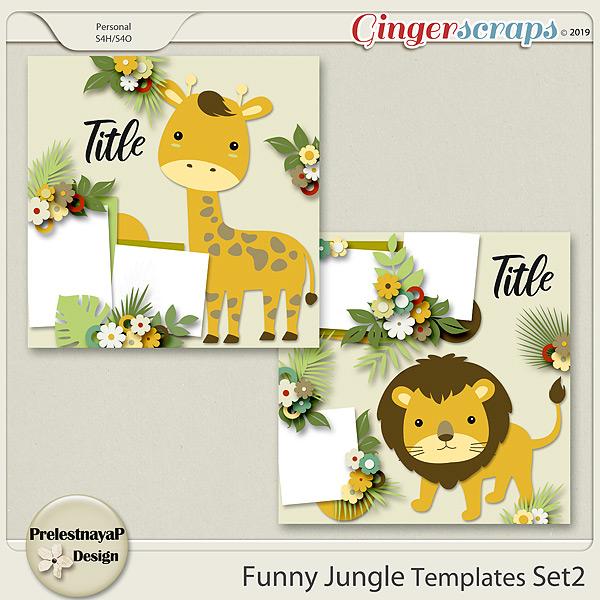 Funny Jungle Templates Set2