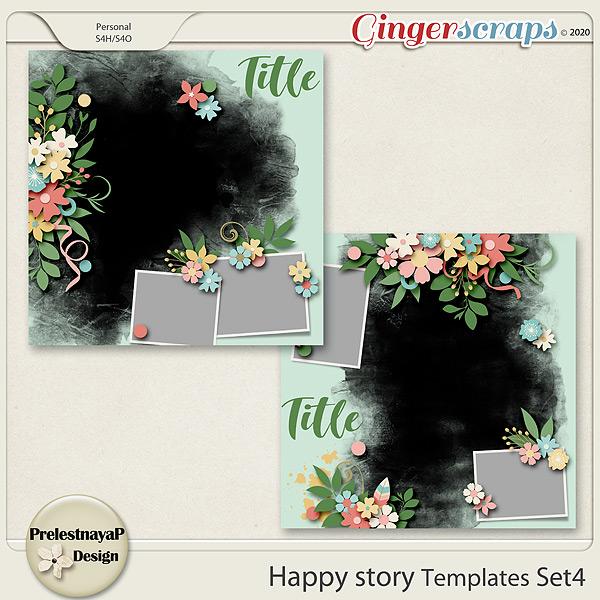 Happy story Templates Set4