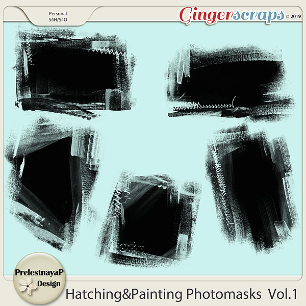 Hatching&Painting Photomasks Set1