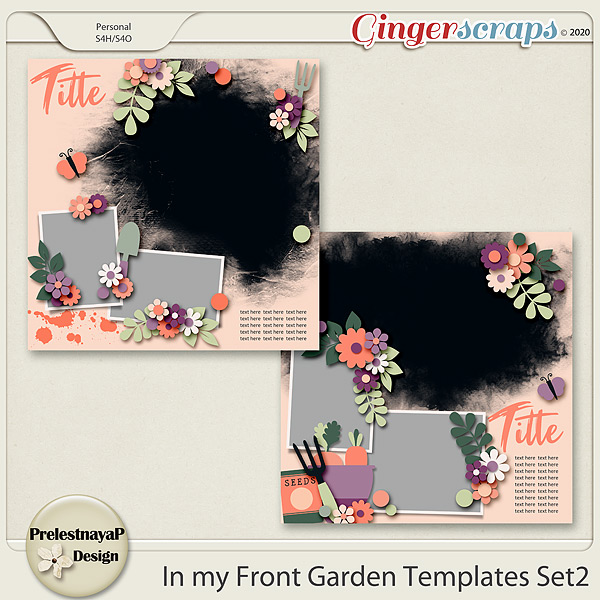 In my Front garden Templates Set2