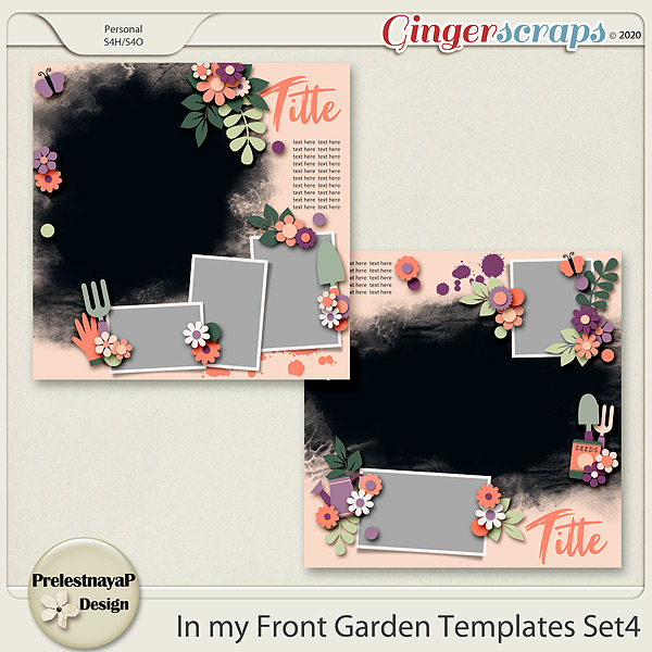 In my Front garden Templates Set4