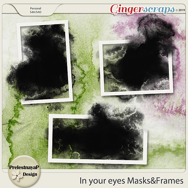 In your eyes Masks&Frames
