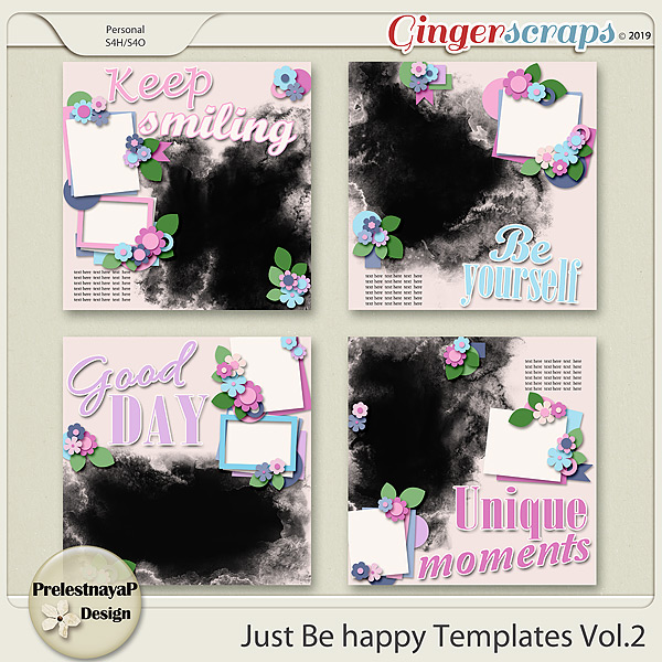 Just be happy Templates Vol.2