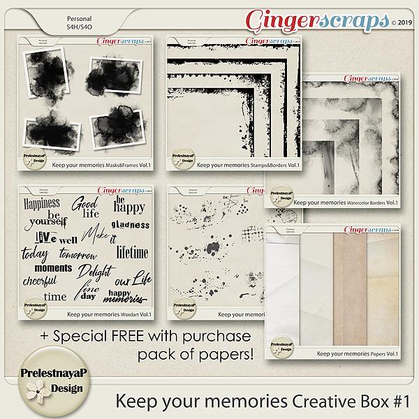 Keep your memories Creative Box #1