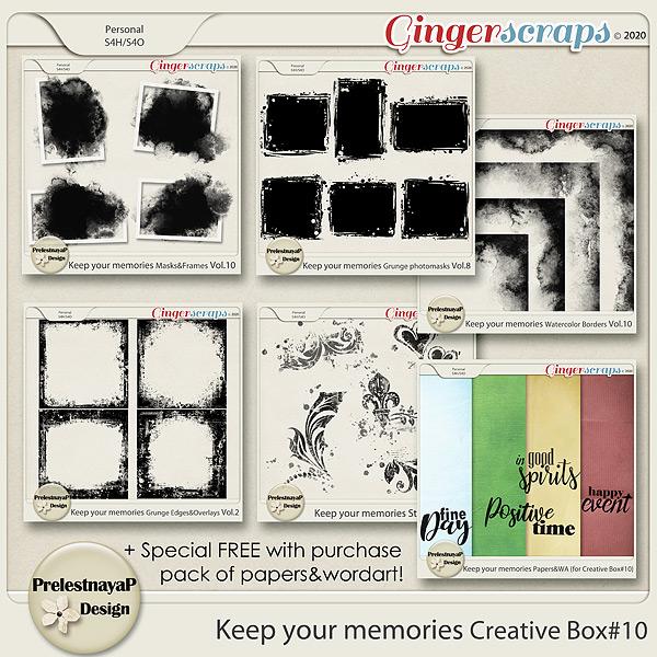 Keep your memories Creative Box #10