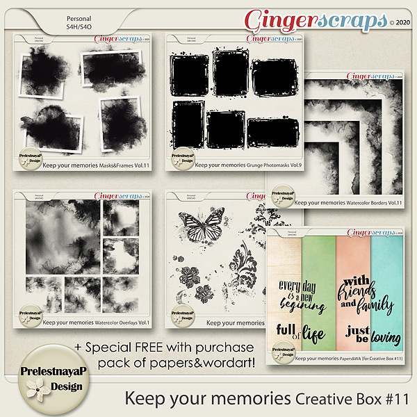 Keep your memories Creative Box #11