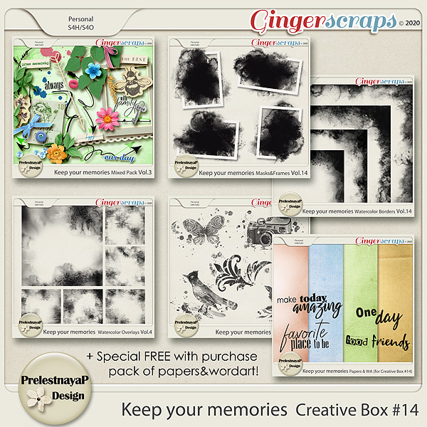 Keep your memories Creative Box #14