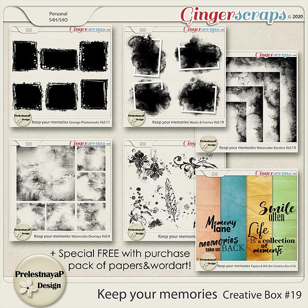 Keep your memories Creative Box #19