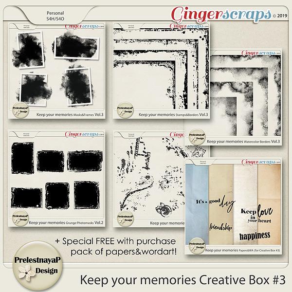 Keep your memories Creative Box #3