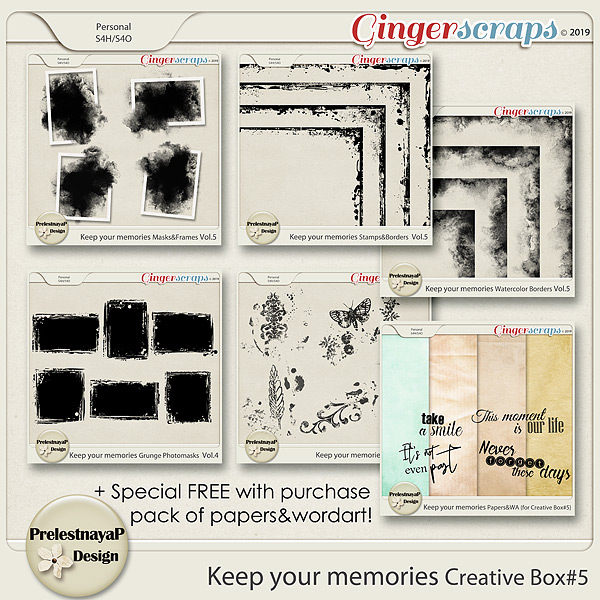 Keep your memories Creative Box #5