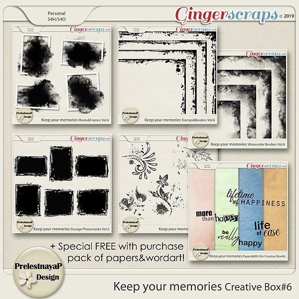 Keep your memories Creative Box #6