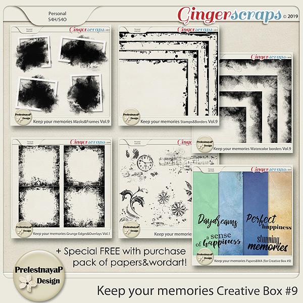 Keep your memories Creative Box #9