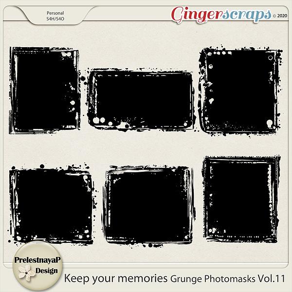Keep your memories Grunge Photomasks Vol.11