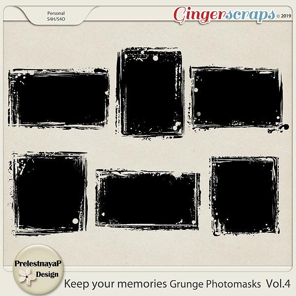 Keep your memories Grunge Photomasks Vol.4
