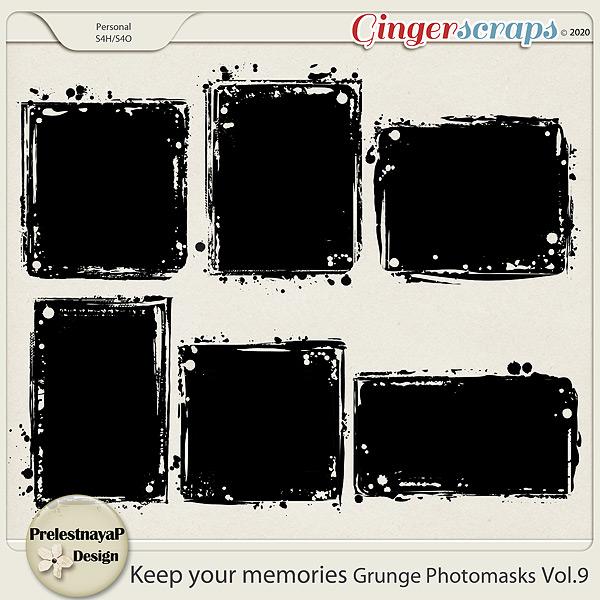 Keep your memories Grunge Photomasks Vol.9